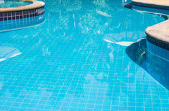 Part of swimming pool Royalty Free Stock Images