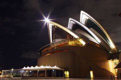 Part of Sydney Opera House Royalty Free Stock Photography