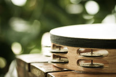 Part of tambourine Royalty Free Stock Images