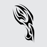 Part of the tattoo. Abstract symbol. Eps10 Stock Photography