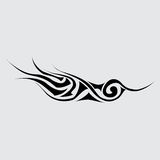 Part of the tattoo. Abstract symbol Stock Photography