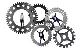 Part of the team effort concept Royalty Free Stock Photo