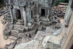 Part of a temple ruin Royalty Free Stock Photography