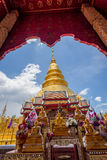 Part of the temple Wat Phra That Haripunchai in Lamphun Stock Images