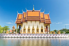 Part of temple Wat Plai Laem on Samui island. Thailand Royalty Free Stock Photography