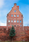 A part of teutonic castle. A part of old teutonic castle Stock Photo