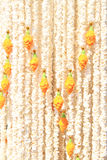 Part of Thai traditional large garland Royalty Free Stock Photo