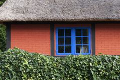 Part of thatched cottage Royalty Free Stock Photography
