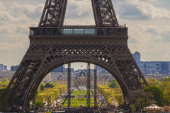 Part of Tour Eiffel - Paris, France Stock Image