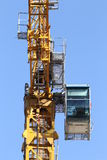 Part of tower crane Royalty Free Stock Photos