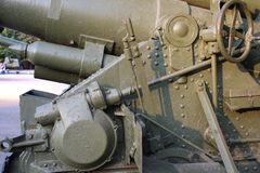 Part of tracked vehicle (Panzer) Stock Images