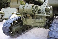 Part of tracked vehicle (Panzer) Royalty Free Stock Photo