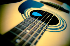 Acoustic guitar Royalty Free Stock Image