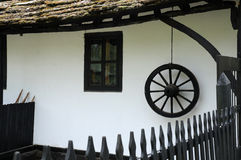 Part of Traditional Bulgarian House Stock Photography