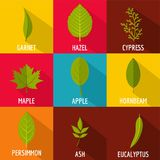 Part of the tree icons set, flat style stock illustration