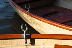 Part of two boats Stock Photography