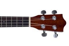 Part of ukulele hawaiian guitar Stock Image