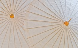 Part of the umbrella. Royalty Free Stock Images