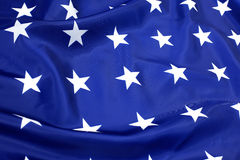 Part of USA flag Royalty Free Stock Photography
