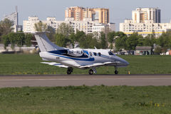 AeroJet Airlines Embraer EMB-500 Phenom 100 busine Royalty Free Stock Photo