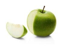 part vert pomme Images libres de droits