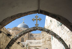 Part of via dolorosa Stock Photography