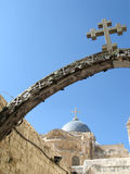 Part of via dolorosa Stock Photos