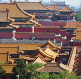 A part view of forbidden city Royalty Free Stock Images