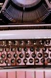 Vintage Typewriter. Part of a vintage typewriter Stock Images