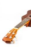 Part of Vintage ukulele Royalty Free Stock Images