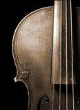 Part of vintage violin Royalty Free Stock Images