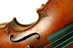 Part of violin Stock Photography