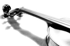 Part of violin. Royalty Free Stock Photography