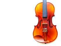Part of violin isolated Royalty Free Stock Photos