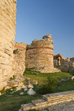 Part of the wall in the city of Nesebar Stock Photo