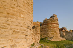 Part of the wall in the city of Nesebar Royalty Free Stock Photos