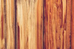 Part of the wall consisting of wooden boards. Tinted texture: a wall consisting of wooden boards Stock Images