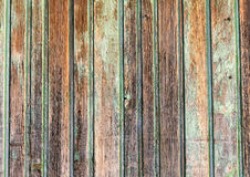 Part of the wall of the old rough wood texture Stock Images