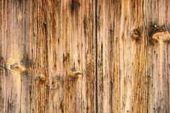 Part of the wall of the old rough wood texture Royalty Free Stock Image