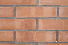 Part of a wall from. A red brick stock photos