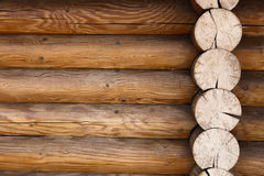 Part of the wall of wooden frame background Stock Photos