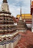 Part of Wat Phra Kaeo temple. Beautiful Wat Phra Kaeo temple gable in Thailand Stock Photo