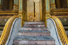 A part of Wat Phra Kaew, Temple of the Emerald Buddha, Bangkok, Thailand. Stock Photography