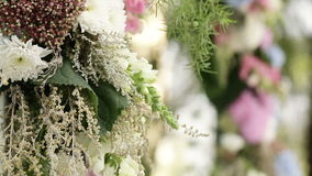 Part wedding arch stock video footage