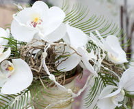 Part of wedding bouquet royalty free stock photo