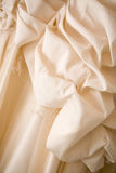 Part of a wedding dress Royalty Free Stock Photography