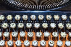 Well preserved vintage type writer
