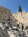 Part of western wall Royalty Free Stock Photography