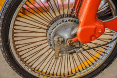 A part of wheel Royalty Free Stock Photo