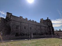 Part of Windsor castle stock photography